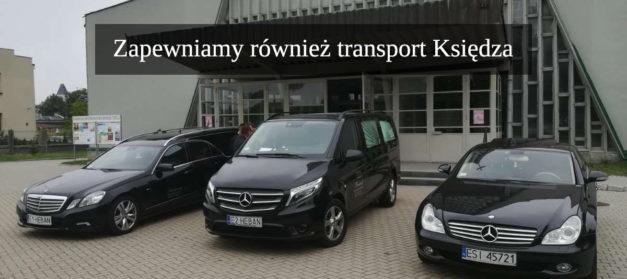 transport księdza sosnowiec